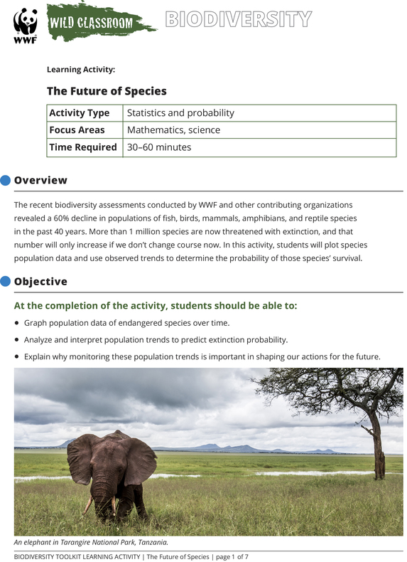 The Future of Species Brochure