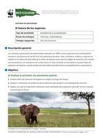 El futuro de las especies Brochure