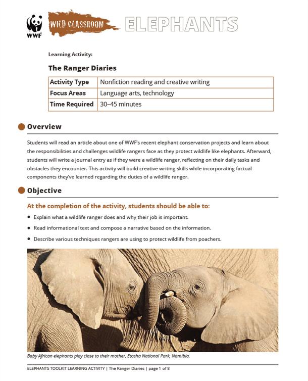 The Ranger Diaries Brochure