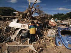 Severe devastation throughout Tegucigalpa