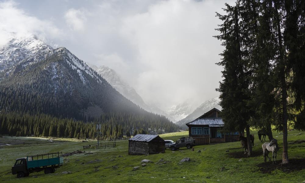 Farm in Kyrgyzstan