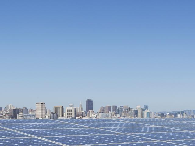 solar panels, San Francisco