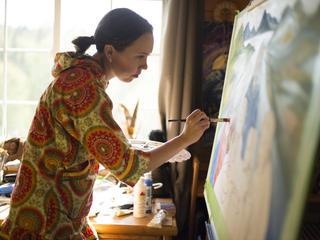 artist Apayo Moore
