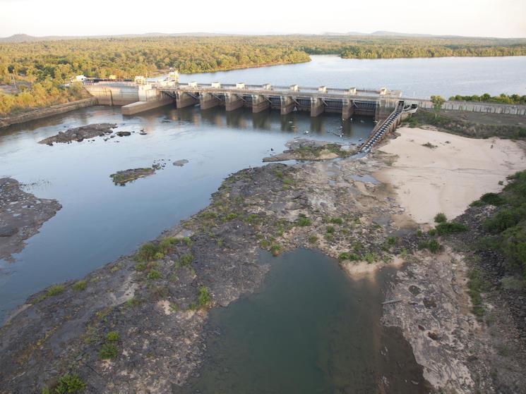 Dam on the Mekong