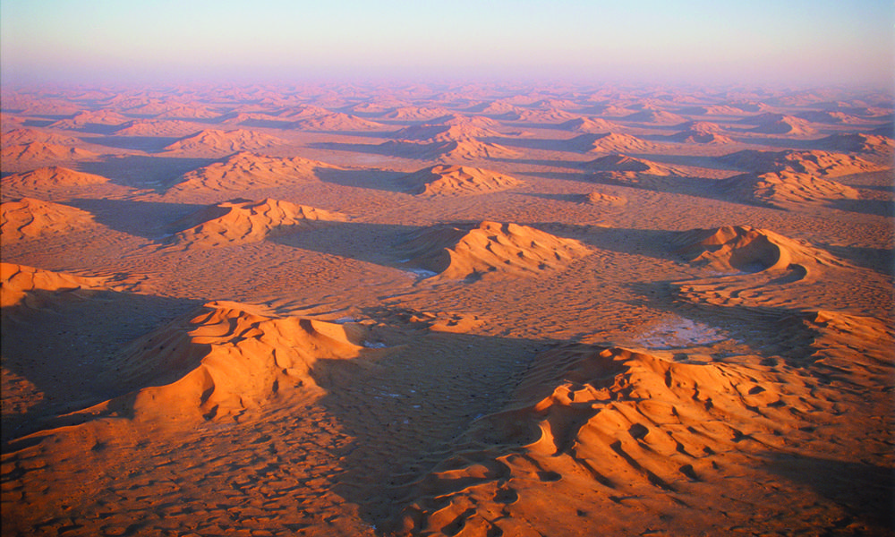 Empty Quarter sand dunes, Saudi Arabia