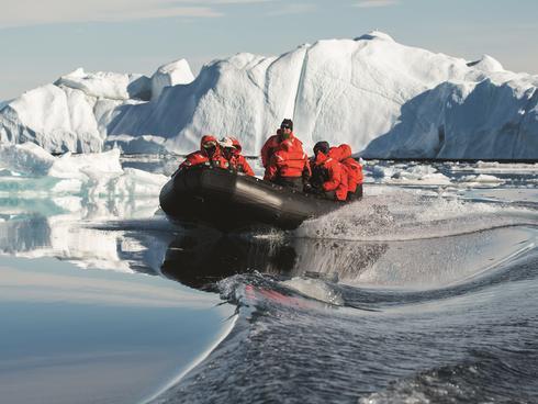 Fjord Greenland