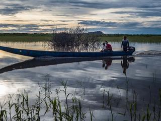 boat on orinoco