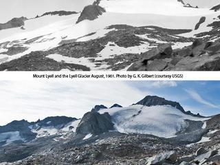 Mount Lyell and Lyell Glacier