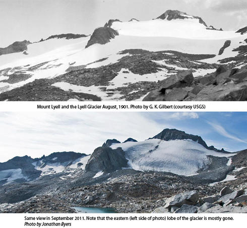 Mount Lyell and Lyell Glacier