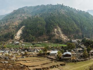 landslide in Nepal