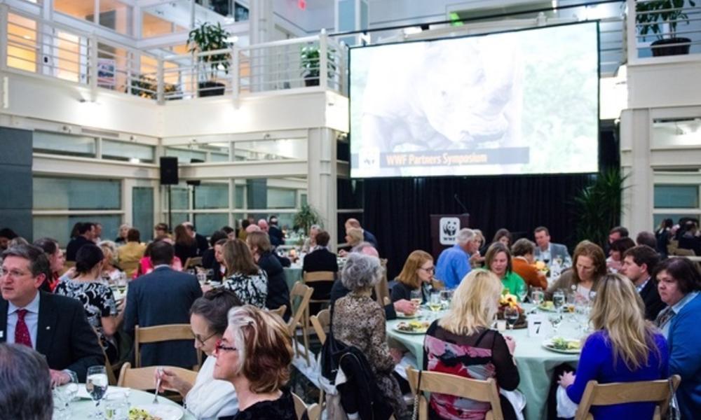 April 2016 Partners Symposium dinner
