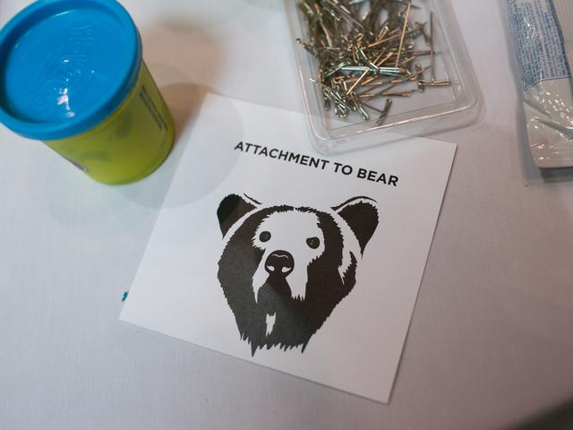 items at bear tracking workshop