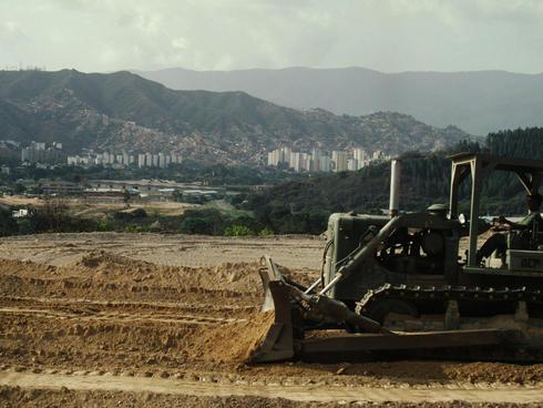 Expanding city of Caracas