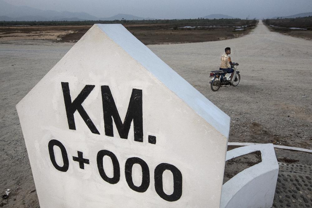 Kilometre Zero milestone