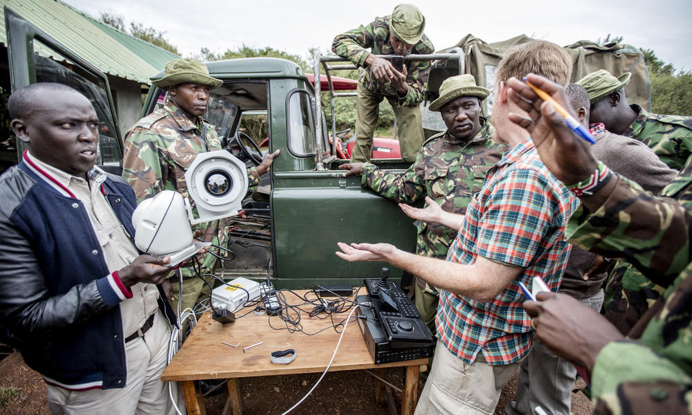 Mara Conservancy mobile camera training