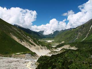 Thanza valley, Bhutan, Eastern Himalayas