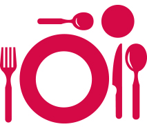 Food utensils icon