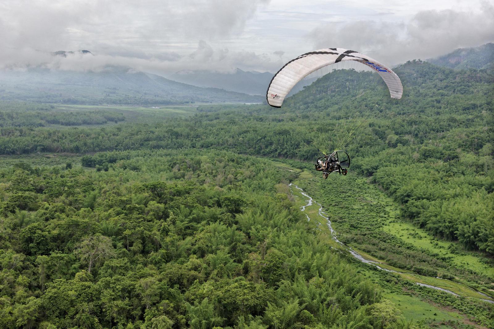 Thailand paramotor spring2017