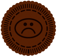 sad chocolate