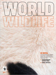 World Wildlife Magazine Spring 2017 cover