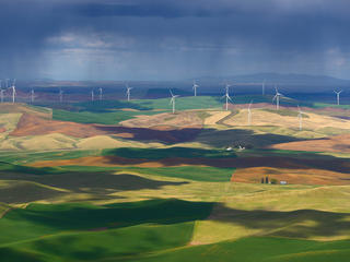 wind farm in United States