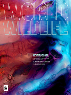 World Wildlife Magazine Summer 2017 cover