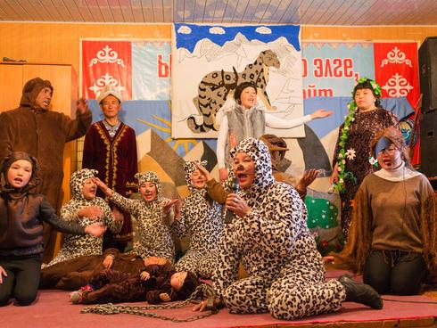 Snow leopard festival