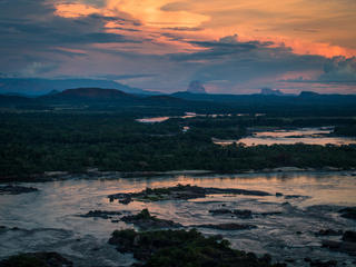 Orinoco River in Colombia