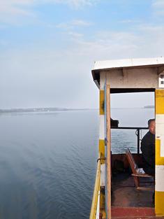 Captain of a ferry on the Yangtze River