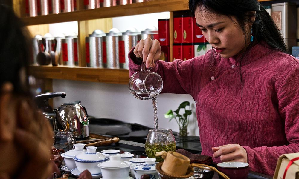 Tea ceremony and tasting