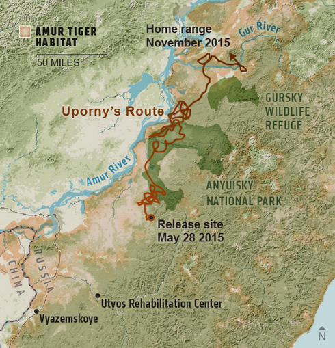 map of Uporny's territory