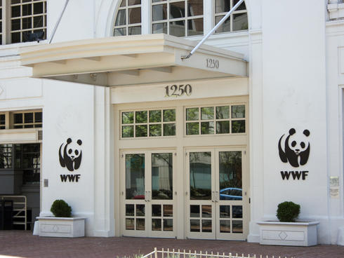 WWF building entrance