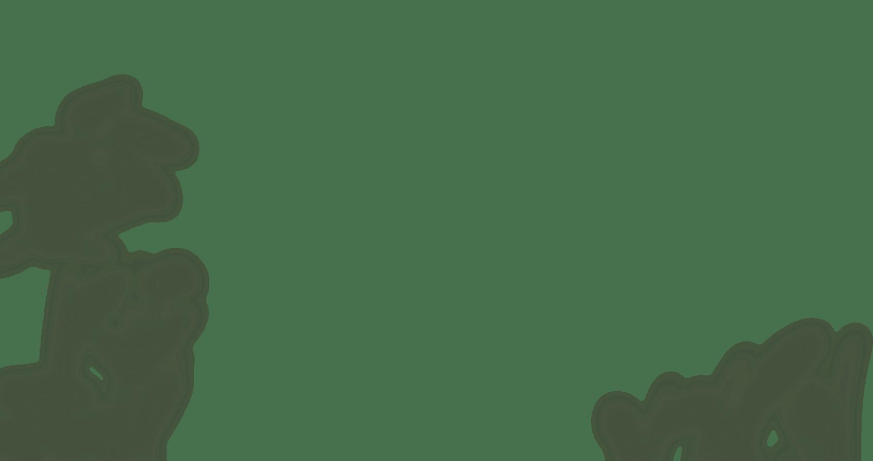 illustration of blurred background plants