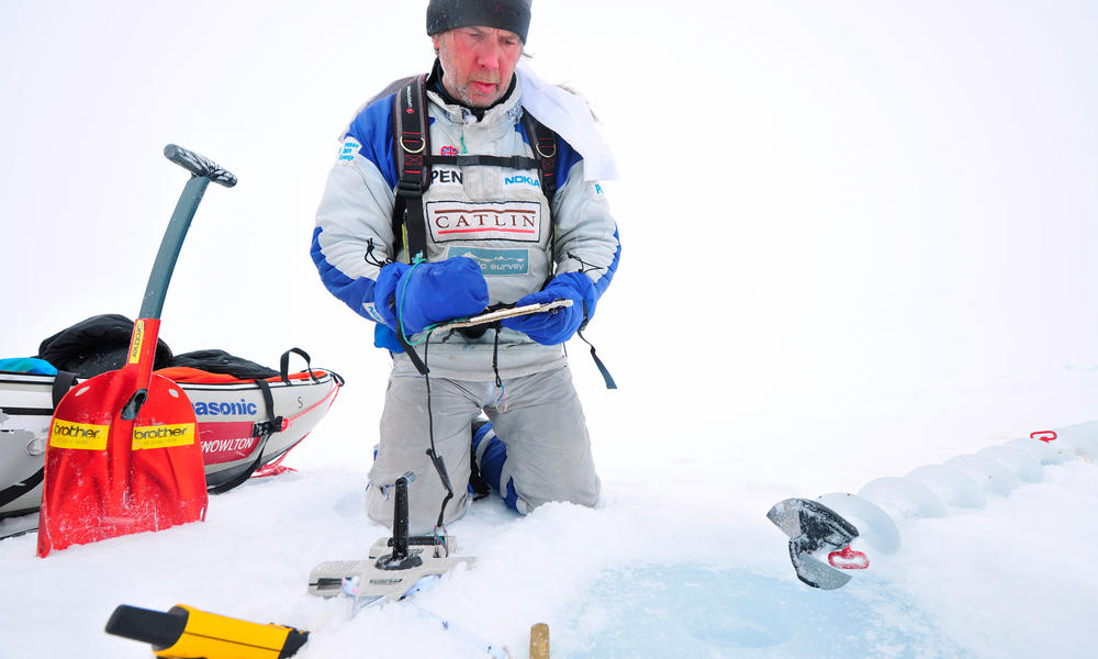 Conducting research in the Arctic
