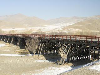 Tuul River in Mongolia