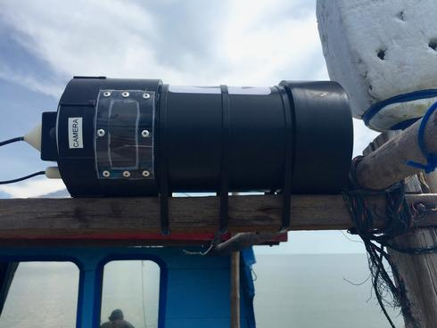 camera used on ship to monitor catch