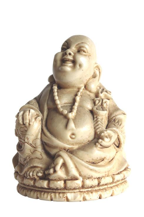 Ivory Buddha statue