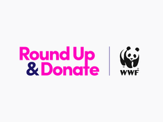 Lyft round up and donate logo