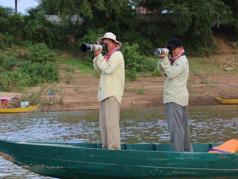 River dolphin survey Greater Mekong Lee Poston