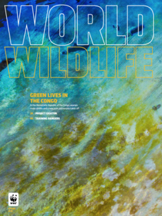 World Wildlife Magazine Spring 2018 cover