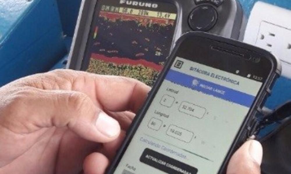 WWF's e-logbooks app