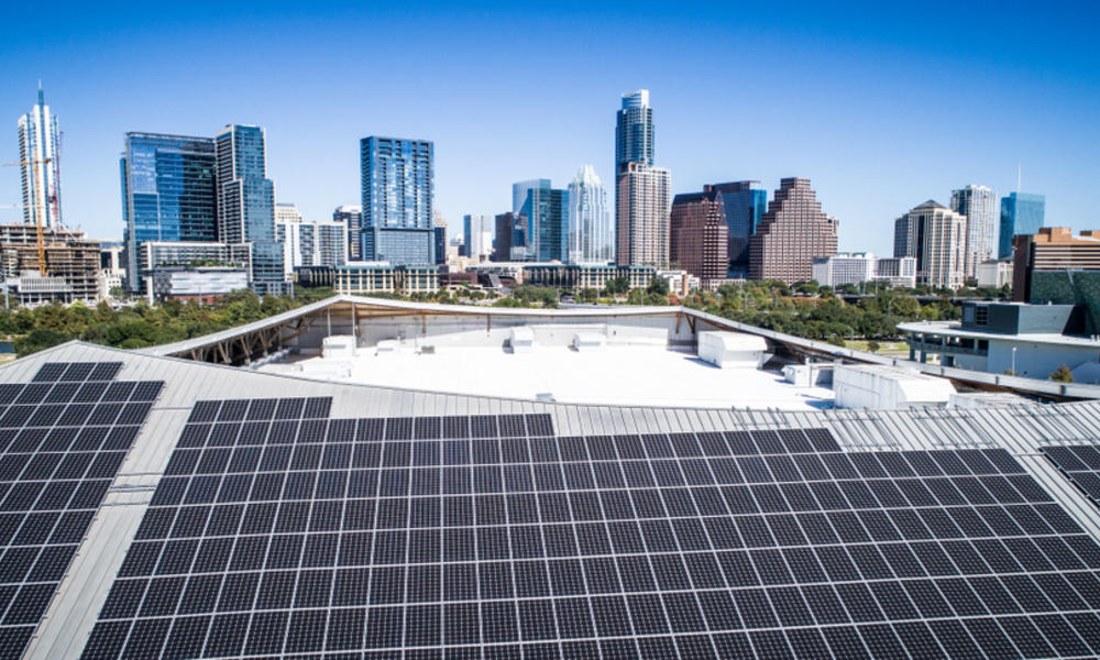 Solar panels in Austin, TX
