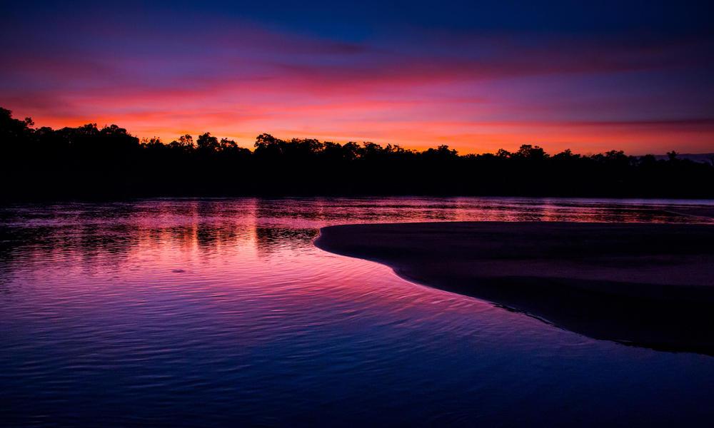 Rio Bita sunset
