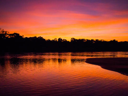 Bita River Sunset 2 Jorge Garcia