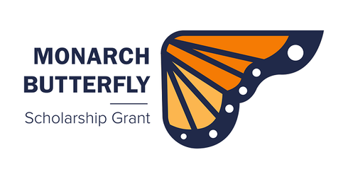 Monarch Butterfly Scholarship Grant Logo