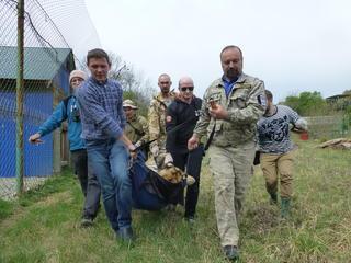 Saikhan sedated before release Yulyia Fomenko