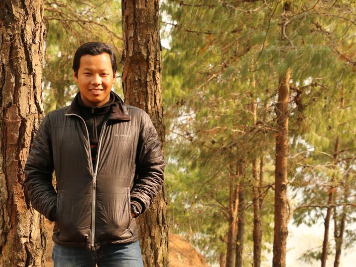 Ngawang Sherpa portrait