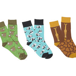 Wildlife sock set detail z1