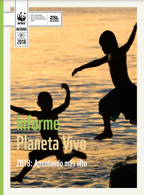 Living Planet Report Cover Spanish