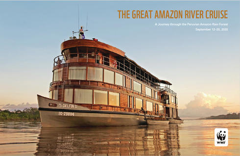 Cover for The Great Amazon River Cruise brochure